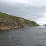 Fluss Angeln Island