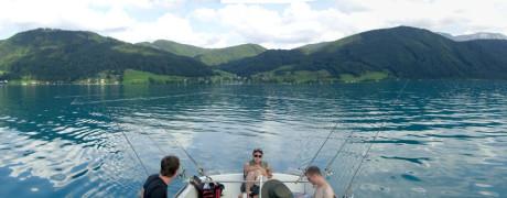 Auf Schleichfahrt zu den großen Freiwasserhechten bzw. Schleppangeln auf Hecht (2014/08, Fangfrisch)