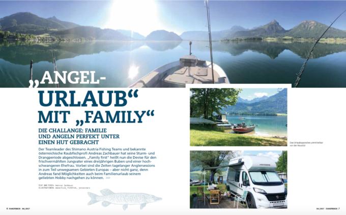Angelurlaub am Wolfgangsee mit Familie (2017/04, Fangfrisch)