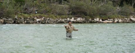 Fliegenfischen an der Ebenseer Traun
