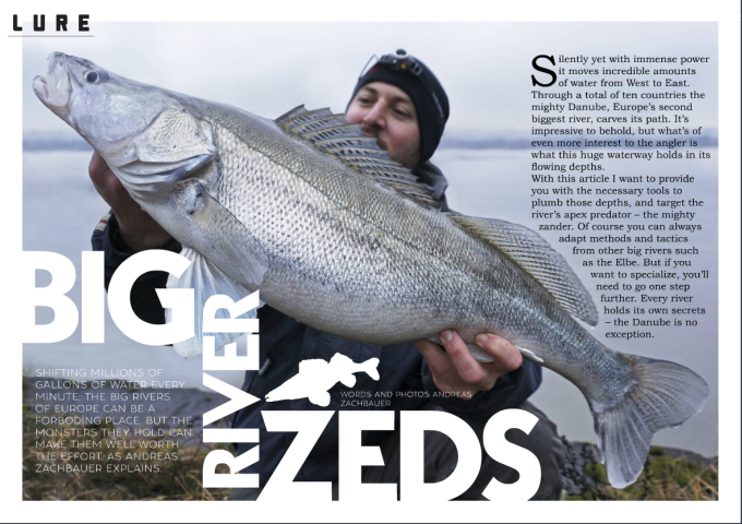 Big River Zeds (2017/02, LURE Magazine)