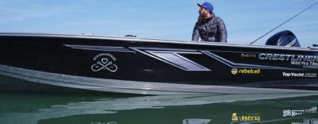 Das Angelboot Crestliner 1650 Pro Tiller